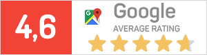 google average rating 4,6