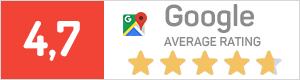 google average rating 4,7