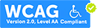 Accessibility Guidelines: WCAG 2.0 (Level AA) Compliant