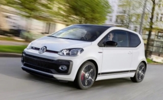 Volkswagen UP Automatic Car Hire in Hersonissos, Malia, Stalis