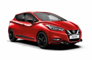 Nissan Micra Automatic Car Hire in Hersonissos, Malia, Stalis