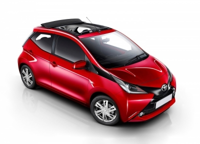 Toyota Aygo Automatic Car Hire in Hersonissos, Malia, Stalis