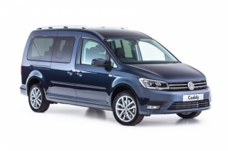 Volkswagen Caddy 7 Seats Car Hire in Hersonissos, Malia, Stalis